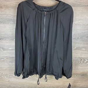 Alfani Zip up shirt jacket NWT